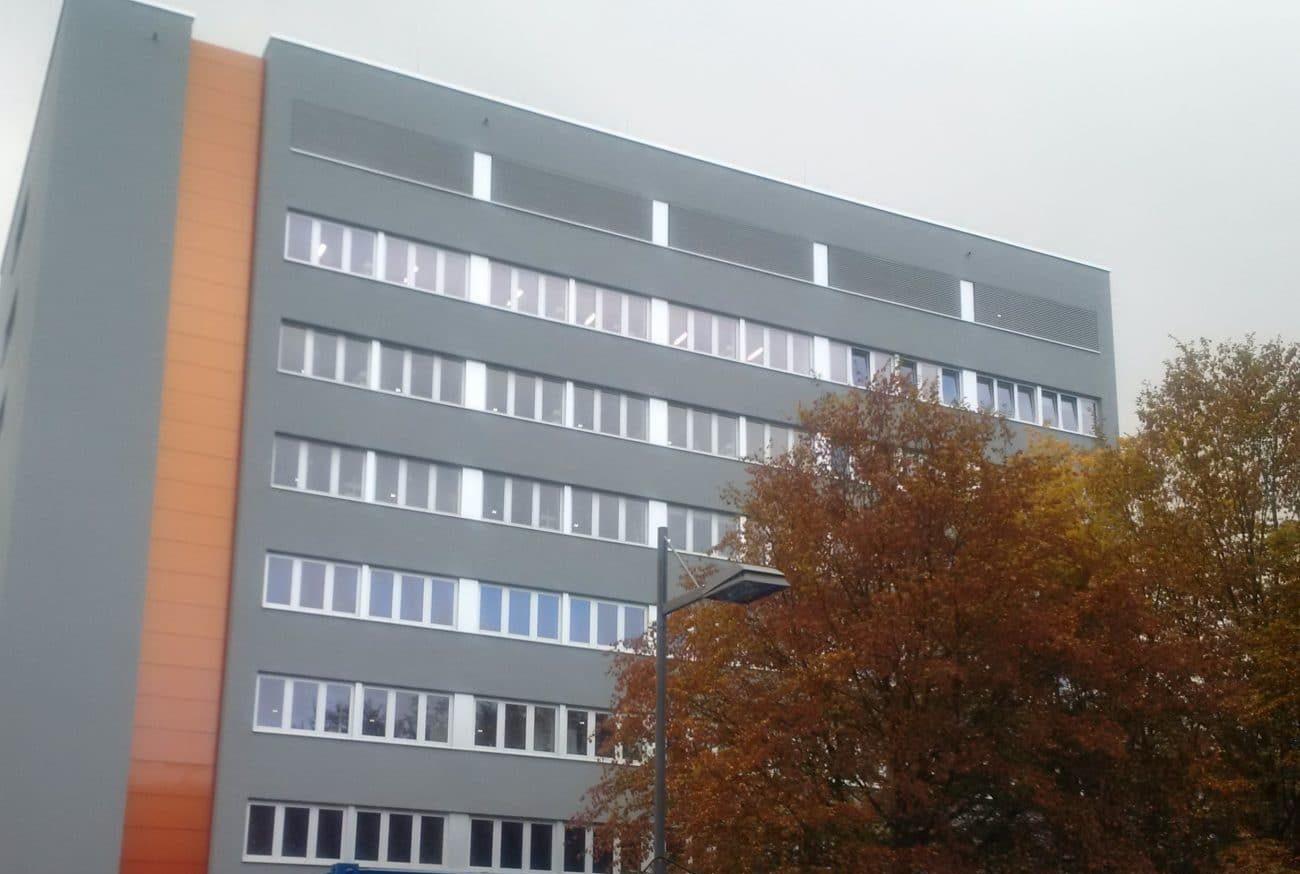 <b>Chemiegebäude - Universtät des Saarlandes</b>